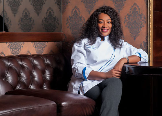 "TV's ""Top Chef"" Star Tiffany Derry"