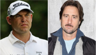 Bill Haas and Luke Wilson