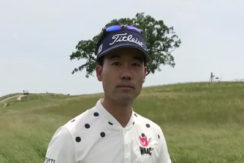 Kevin Na Playing slow.