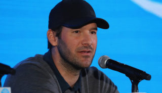 Tony Romo sponsored by PGA