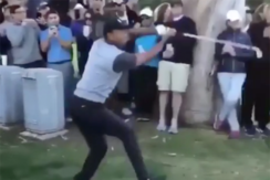 All eyes on Tiger Woods