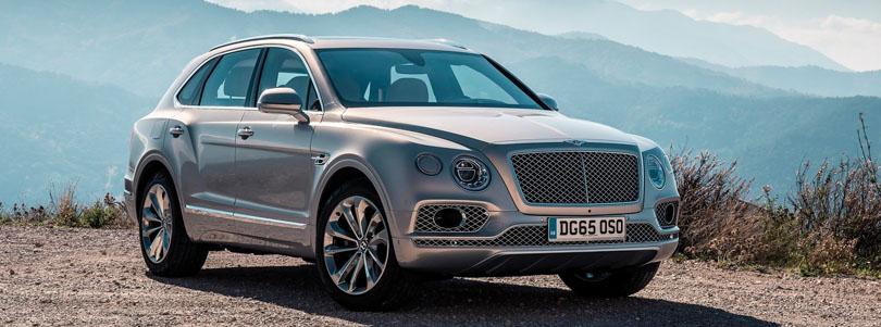 2017 Bentley Bentayga — Exotic Goes Off Road