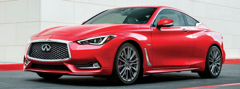 Infiniti Q60 Red Sport — A Gorgeous Rip-Roaring Good Time