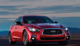 Red Sport Infinite Car Review
