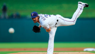 CH 3 Pitcher for the Rangers
