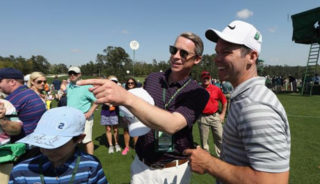 Paul Casey and autographs