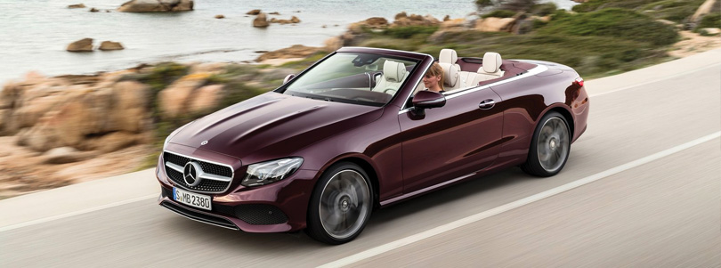 Mercedes-Benz E400 4MATIC Cabriolet — Wonder Wheels