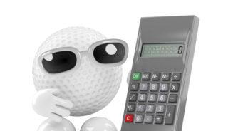 calculating a winner golf science 2018