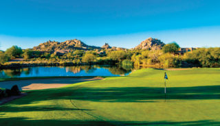 2018 Phoenix Arizona Golf Course Picture