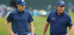 Spieth and Day reflect on Phil's use the rules