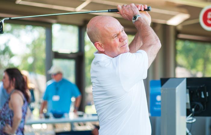 David Pillsbury Golf Swing