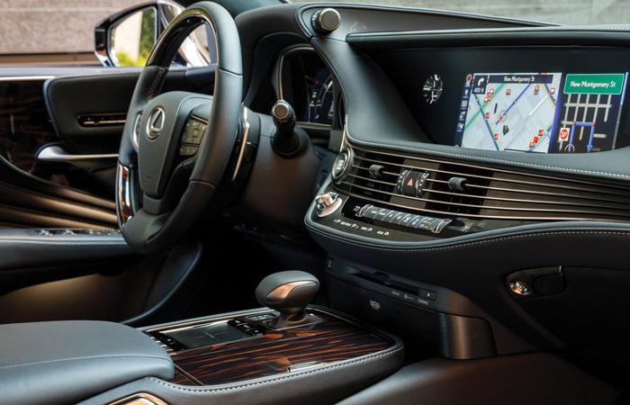 Drive Time The 2018 Lexus Ls 500 Avidgolfer Magazine