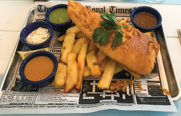 Fish and Fizz Fish and Chips