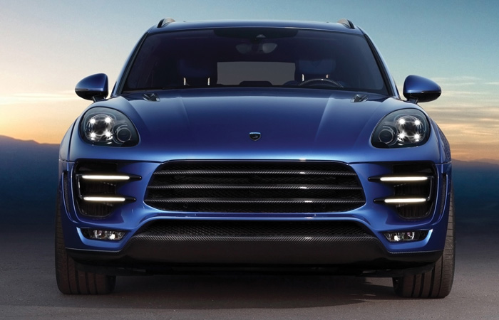 Macan Front On
