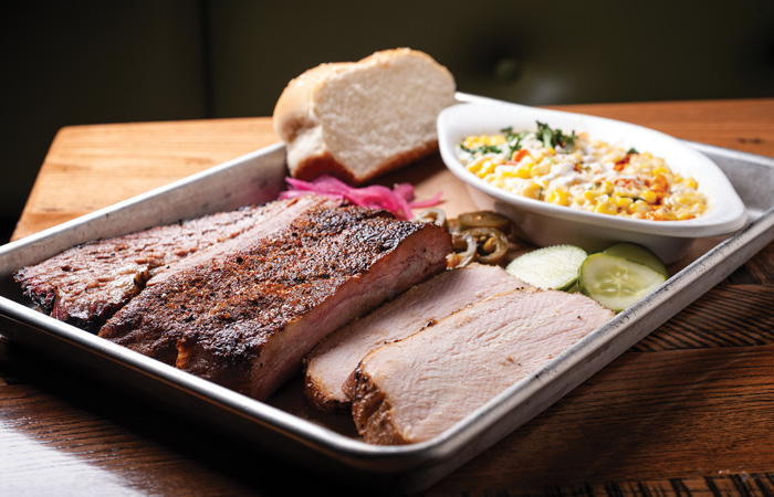 Marty B's Smoked Meat Trio