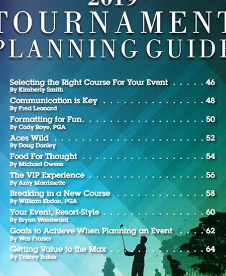 Feature - 2019 Tournament Planning Guide | AvidGolfer Magazine