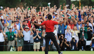 Who isn't happy over Tiger's 15 major win