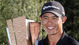 Morikawa wins first pro event in 6th try
