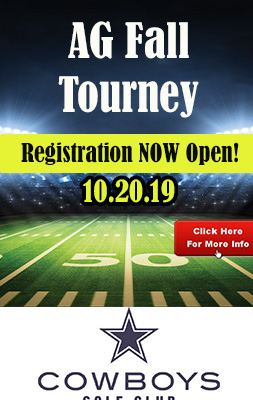 Registration NOW OPEN for AG Fall Tournament at Cowboys