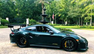 Patrick Reed new Porsche