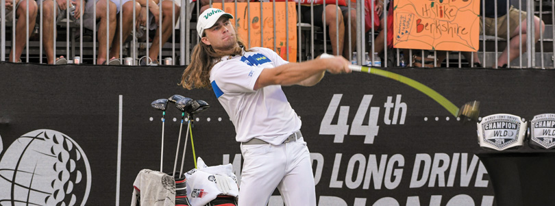 Cover Story – Kyle Berkshire, 2019 World Long Drive Champion