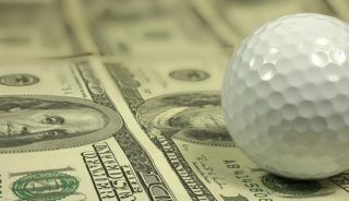 Money and golf