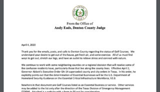 Denton County judge