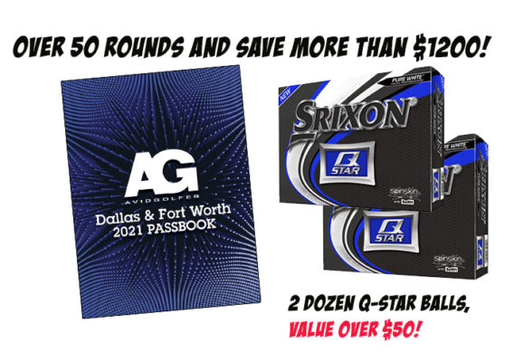 2021 DFW Passbook and AVIDGOLFER Magazine Subscription